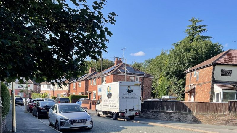 Man branded 'ugly' by fuming residents after leaving work vans outside their homes overnight