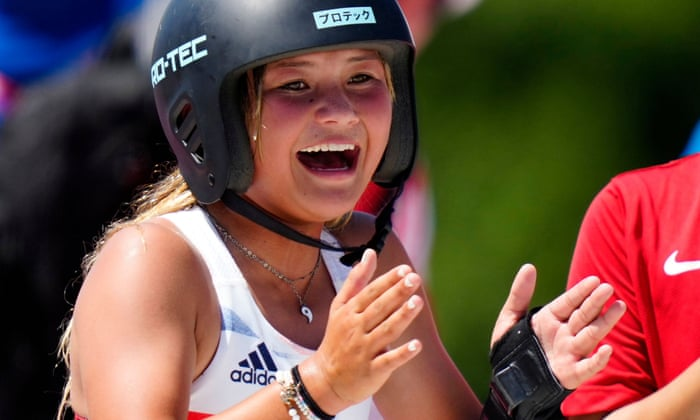 'It's like a dream': Sky Brown delights in Olympic medal a year after horror crash