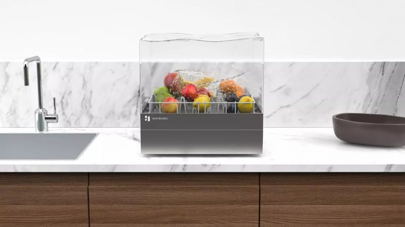 Heatworks is now accepting orders for its connected countertop dishwasher